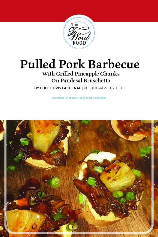 Pin: Pulled-Pork Barbecue