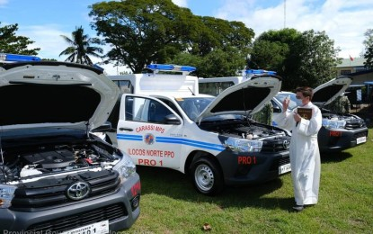 New patrol cars to boost police visibility in Ilocos Norte