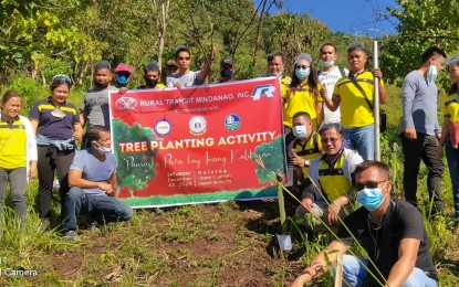 Mindanao bus firm joins LTFRB-initiated tree-planting in CDO
