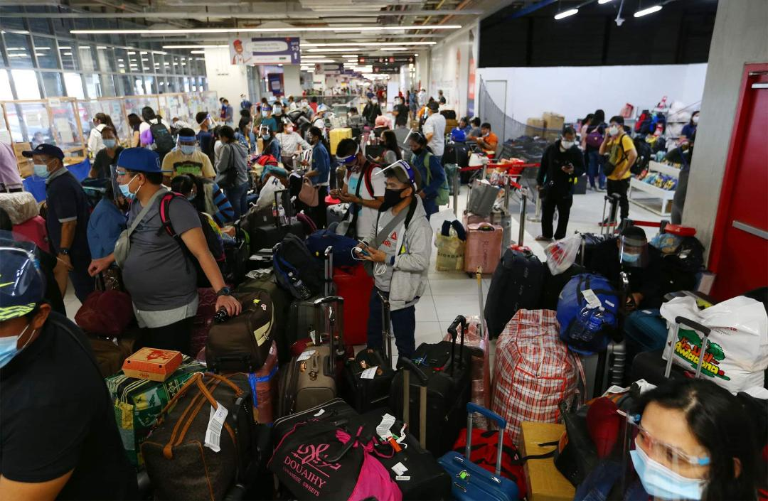 Repatriated OFWs hope to be home for Christmas