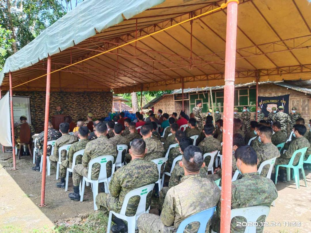 LGU, Army Honor Unsung Heroes this Yuletide Season