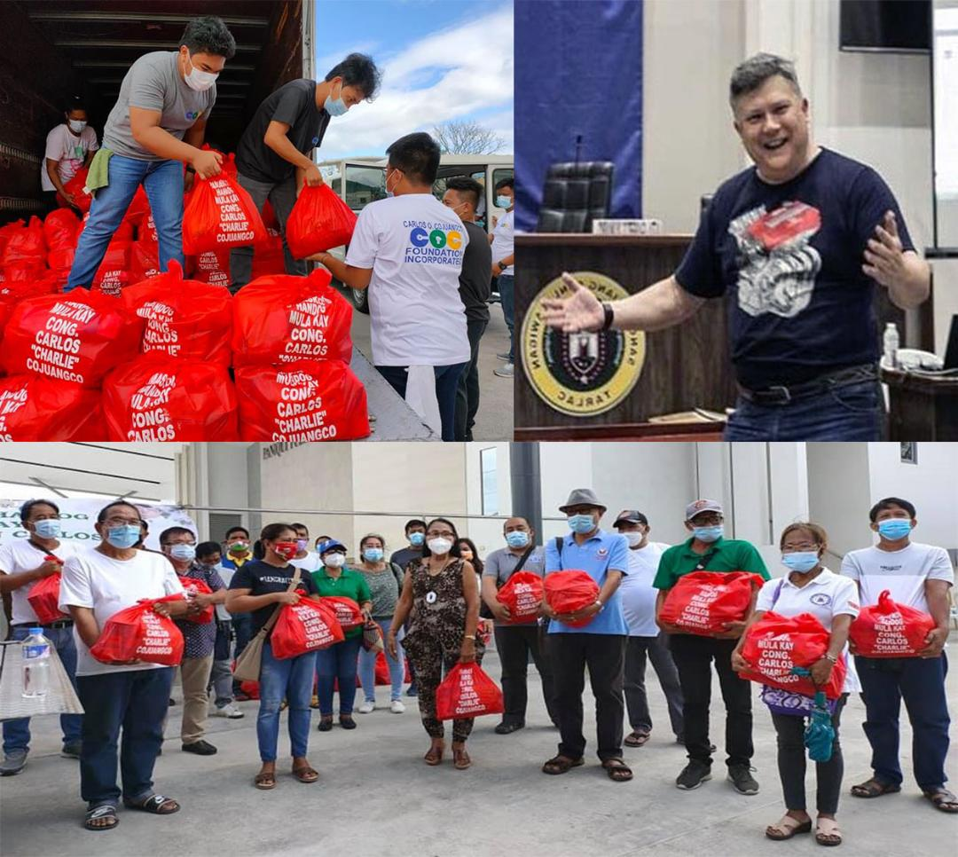 6,500 indigents from Tarlac 1st District receive early Xmas treat from Rep. Cojuangco