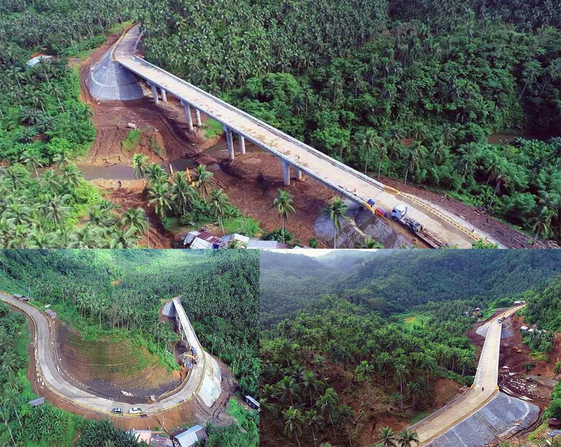 New road network towards development and change in Northern Samar completed this year