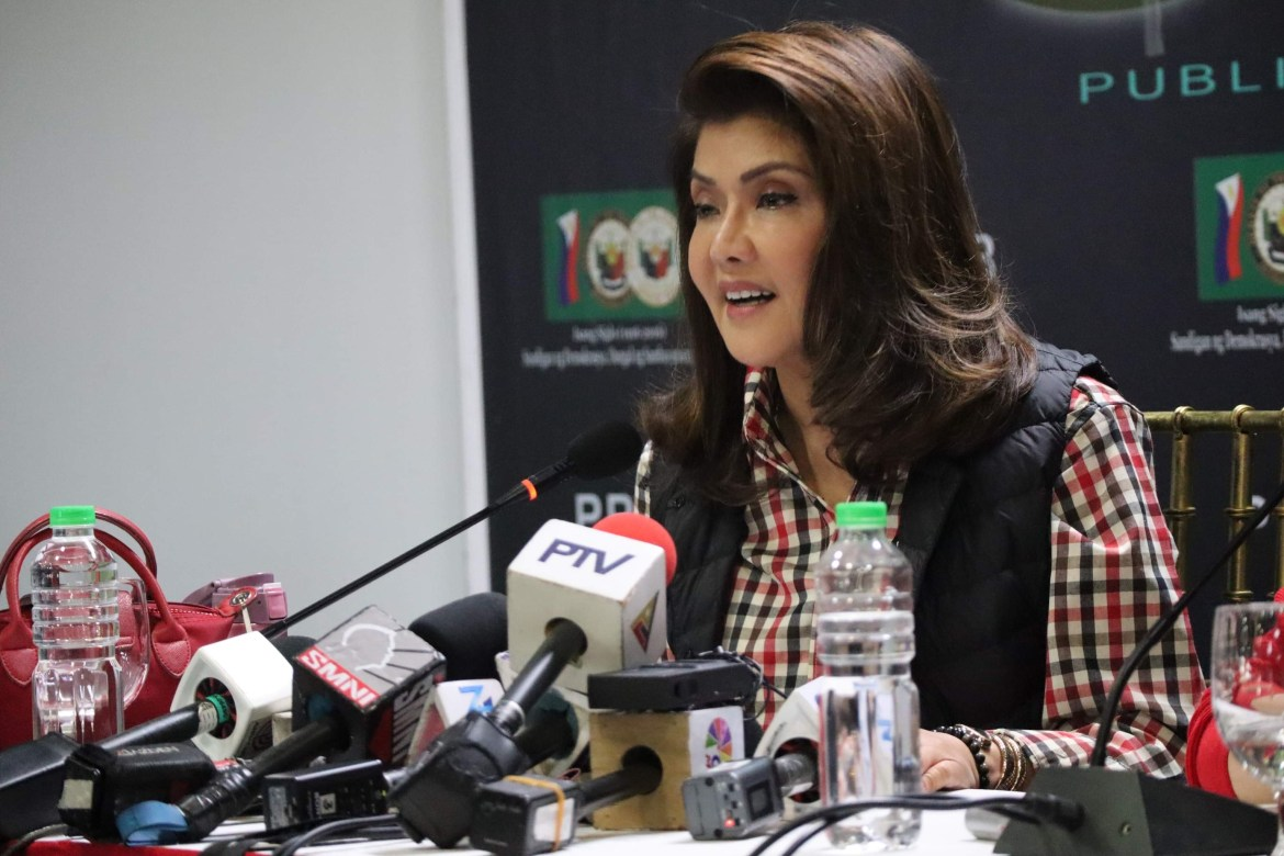 Imee blasts DTI for 'fairy tale' SRP on food prices