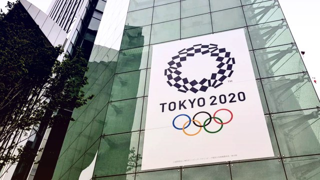 Tokyo 2020 Olympics privately canceled | Tokyo 2020 banners seen around city centers