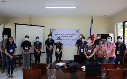 Vets trained on RT-PCR testing for ASF