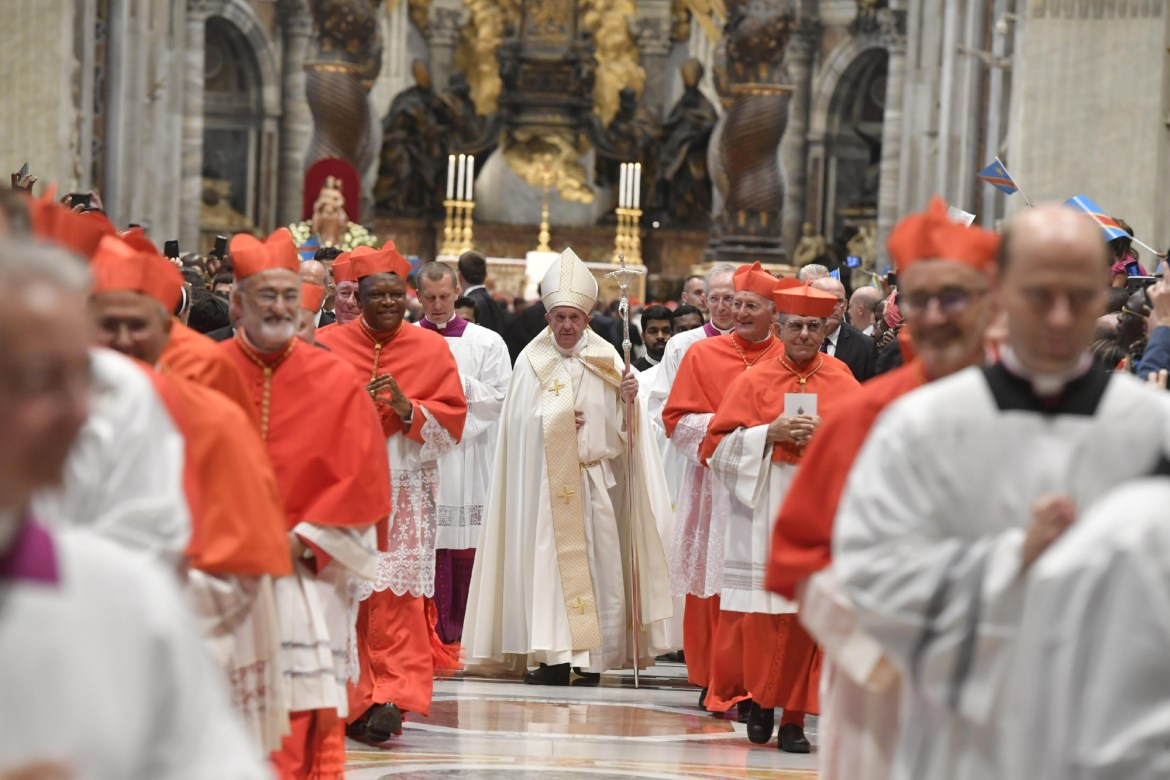 Pope Francis is looking for 'a few good men' in reforming the Catholic Church