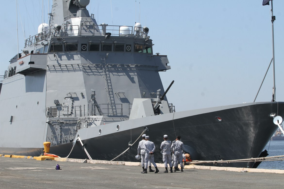 PH Navy welcomes 2nd missile-capable frigate
