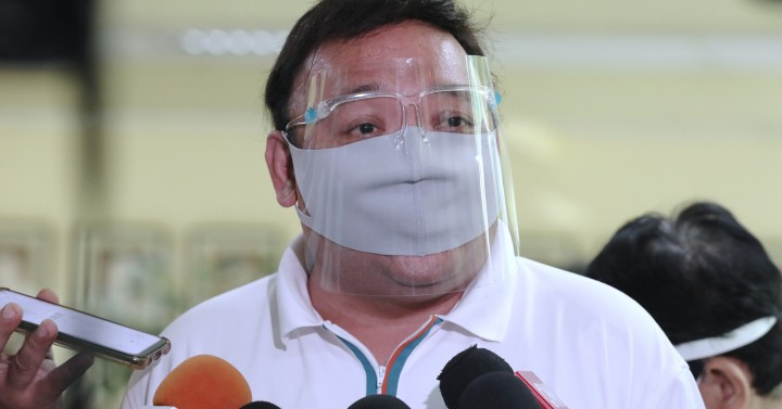 Roque tests positive for Covid-19