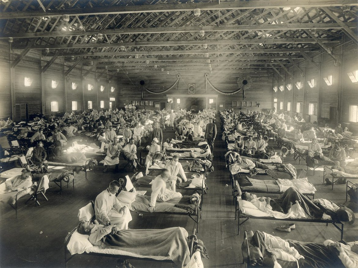 First cases reported in deadly 1918 flu pandemic