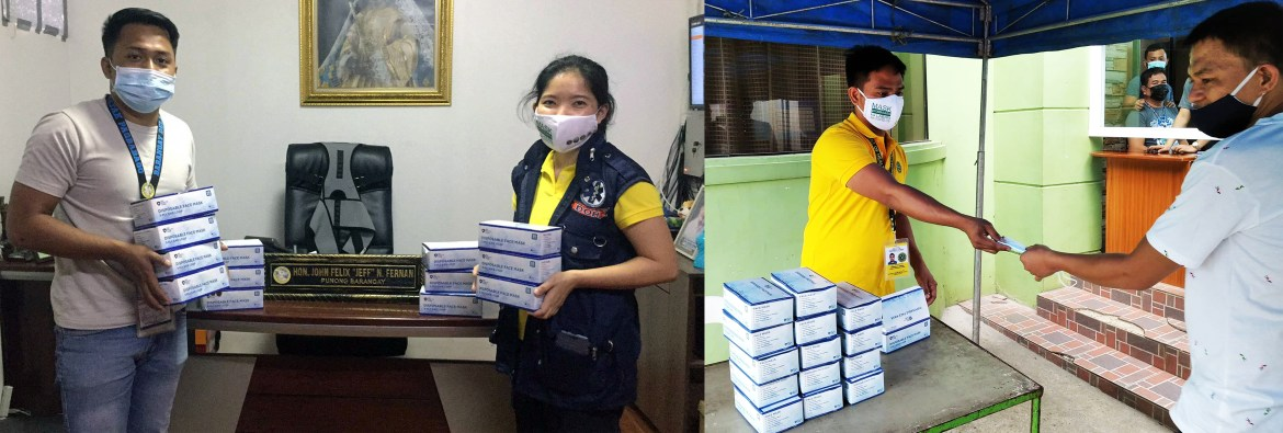 CALABARZON communities with high Covid-19 cases get free masks