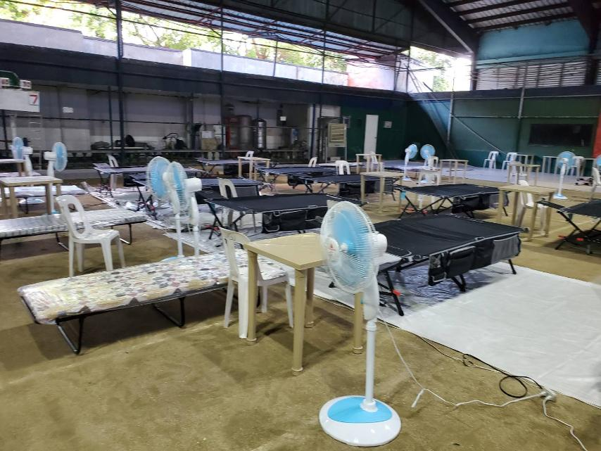 More beds made available for PNP personnel infected with Covid-19 — Sinas