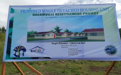 NHA allots P25-M for Sarangani resettlement project