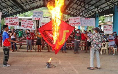Negros Occidental villagers say no to CTGs