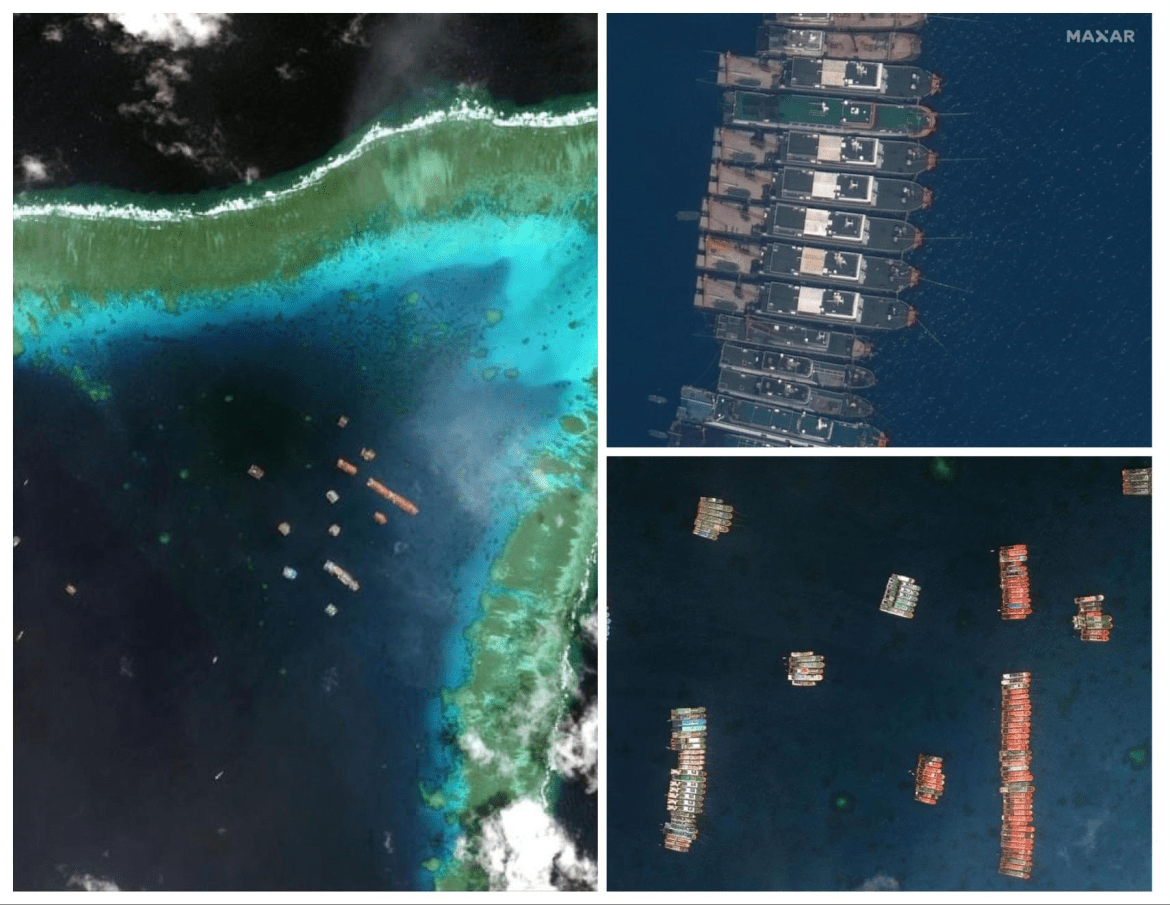 Risa blasts China for continuing presence of Chinese vessels in Julian Felipe Reef