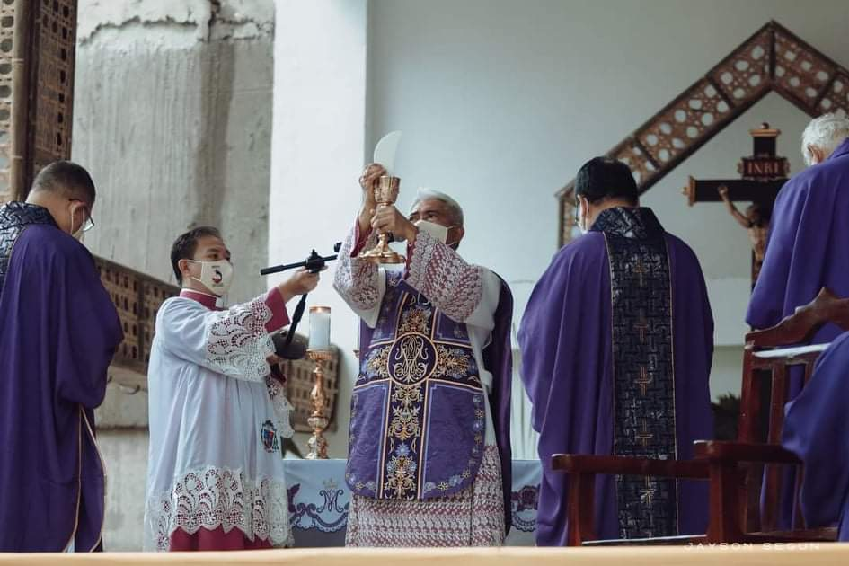 Quincentennial anniversary rites of 1st holy mass in PH peaceful