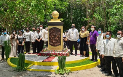 More quincentennial markers unveiled in Leyte