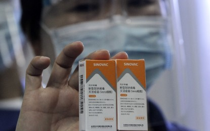 Over 4K front-liners to receive 2nd dose of CoronaVac jabs