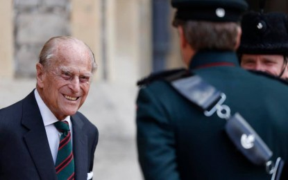 No state funeral for Prince Philip due to pandemic
