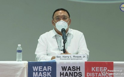 Roque set to hold briefings despite Covid-19 reinfection