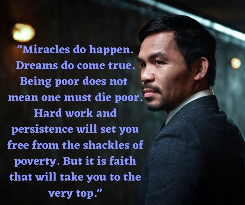 Pacquiao at Oxford University