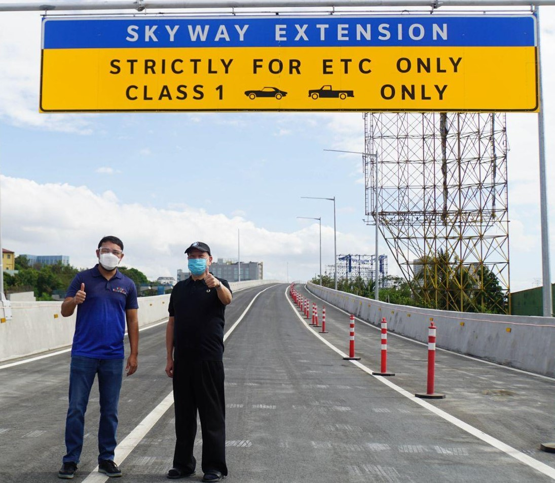 SMC opens northbound section of Skyway Extension project to the public
