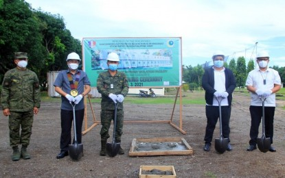 BARMM starts construction of isolation hub in Army camp