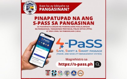 Pangasinan implements S-PaSS system for inbound travelers