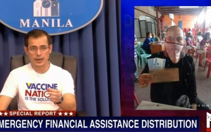 Manila completes ECQ cash aid distribution in 35 days