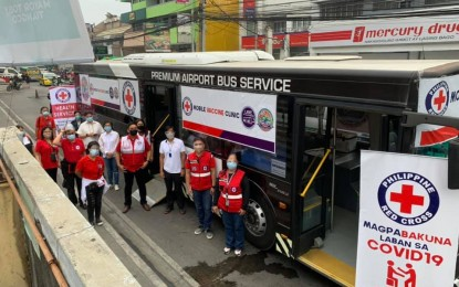 PRC launches mobile vaccination with Ube Xpress