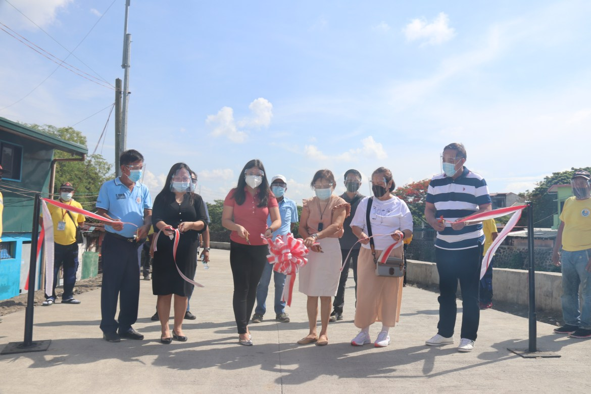 Villar leads inauguration of Las Piñas- Bacoor River Drive: seesfurther traffic volume reduction