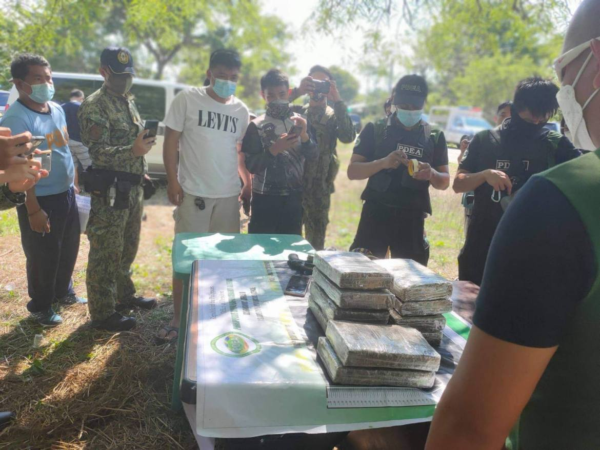 PNP collars 4 suspects, P1.2M worth of cannabis confiscated in Isabela