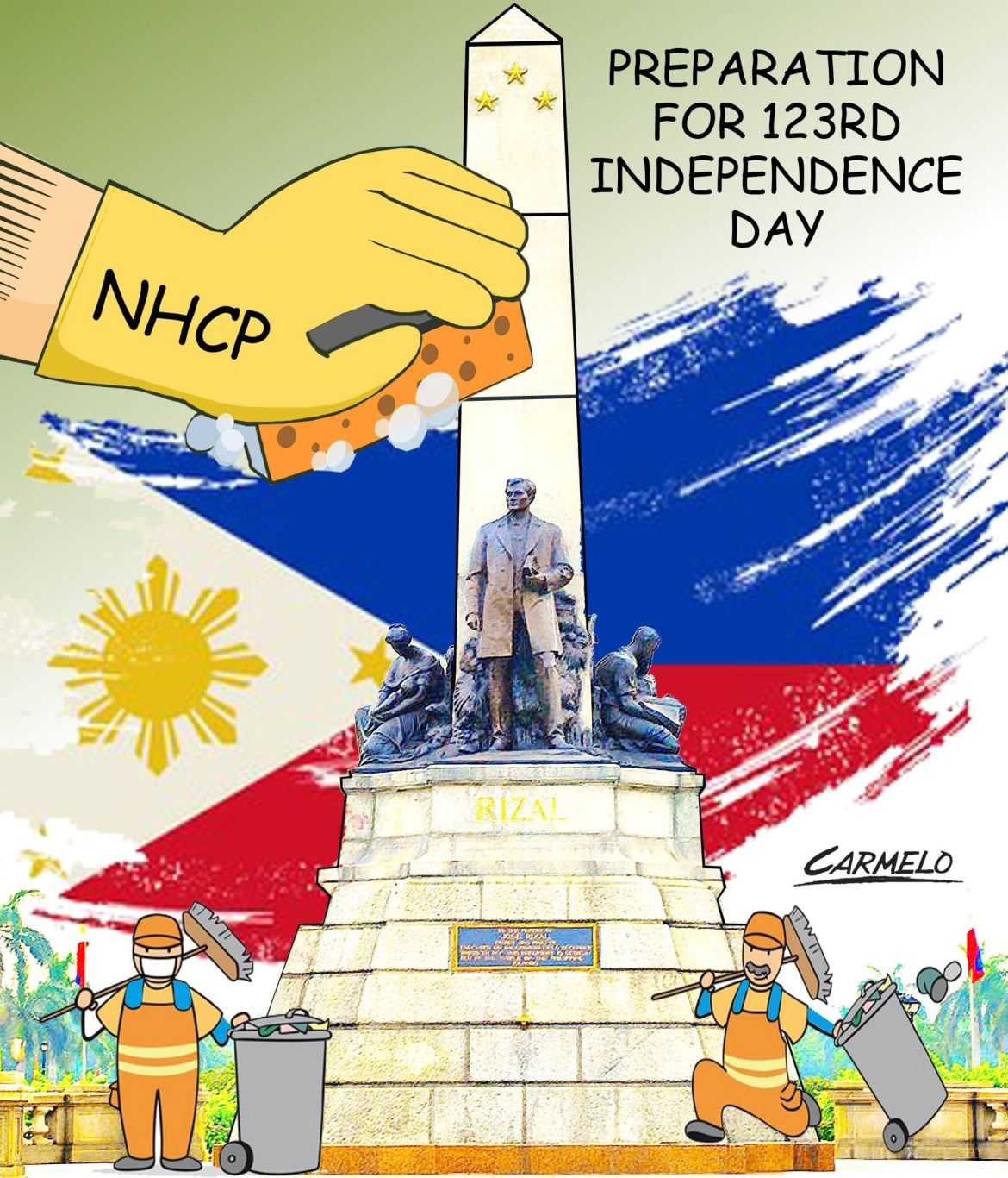 'Getting ready for PH's 123rd Independence Day'