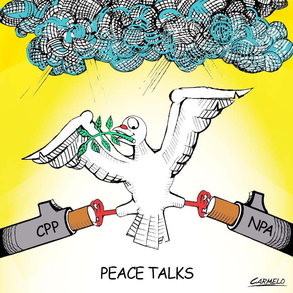 No peace talks can ever succeed unless NPA stops attacks