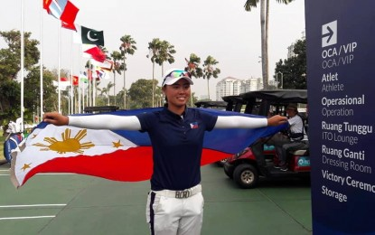 Reso honoring 1st Filipina US Open champ filed in House