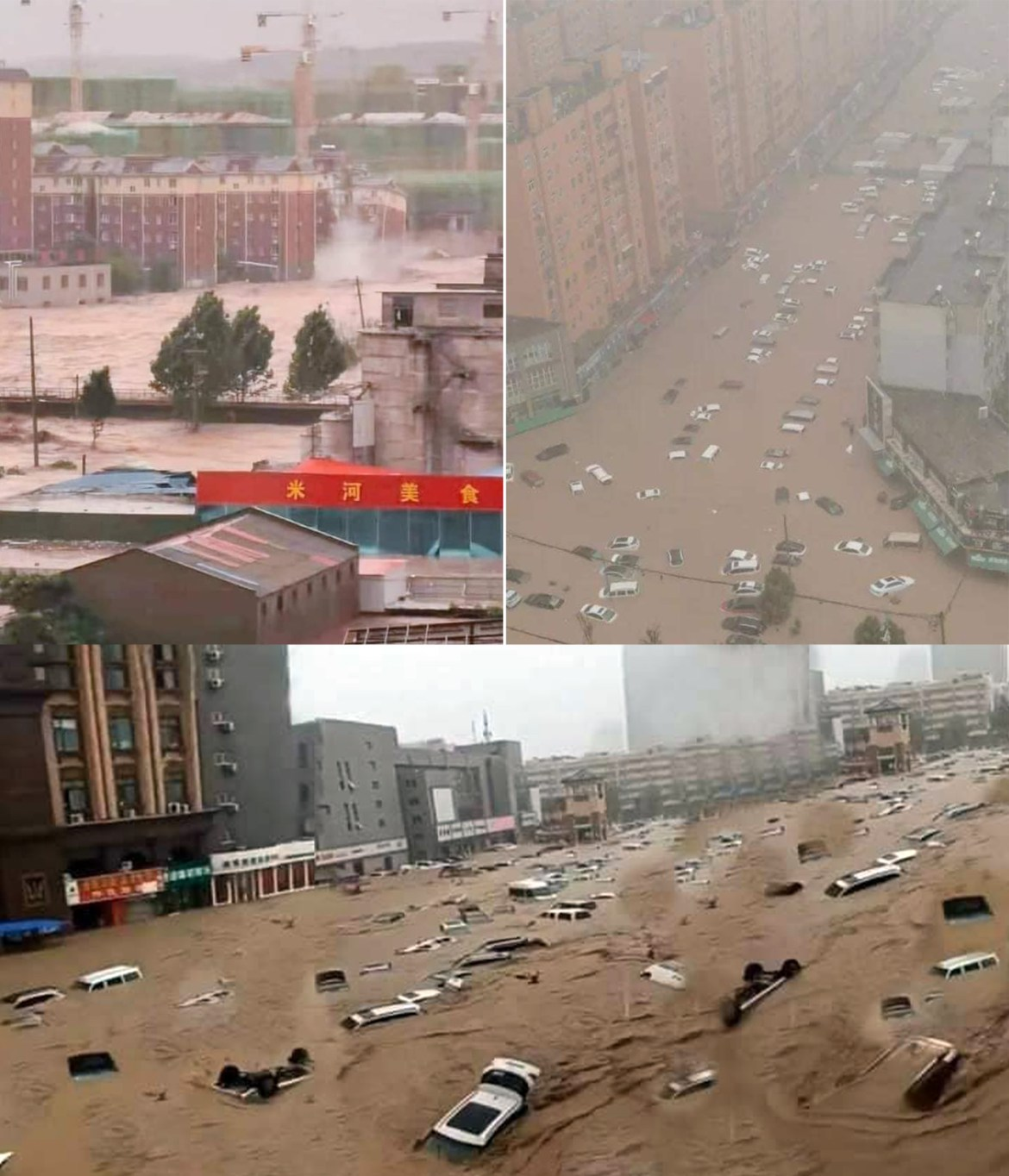CHINA'S WORST FLOODING IN HENAN PROVINCE LEAVES 25 PEOPLE DEAD