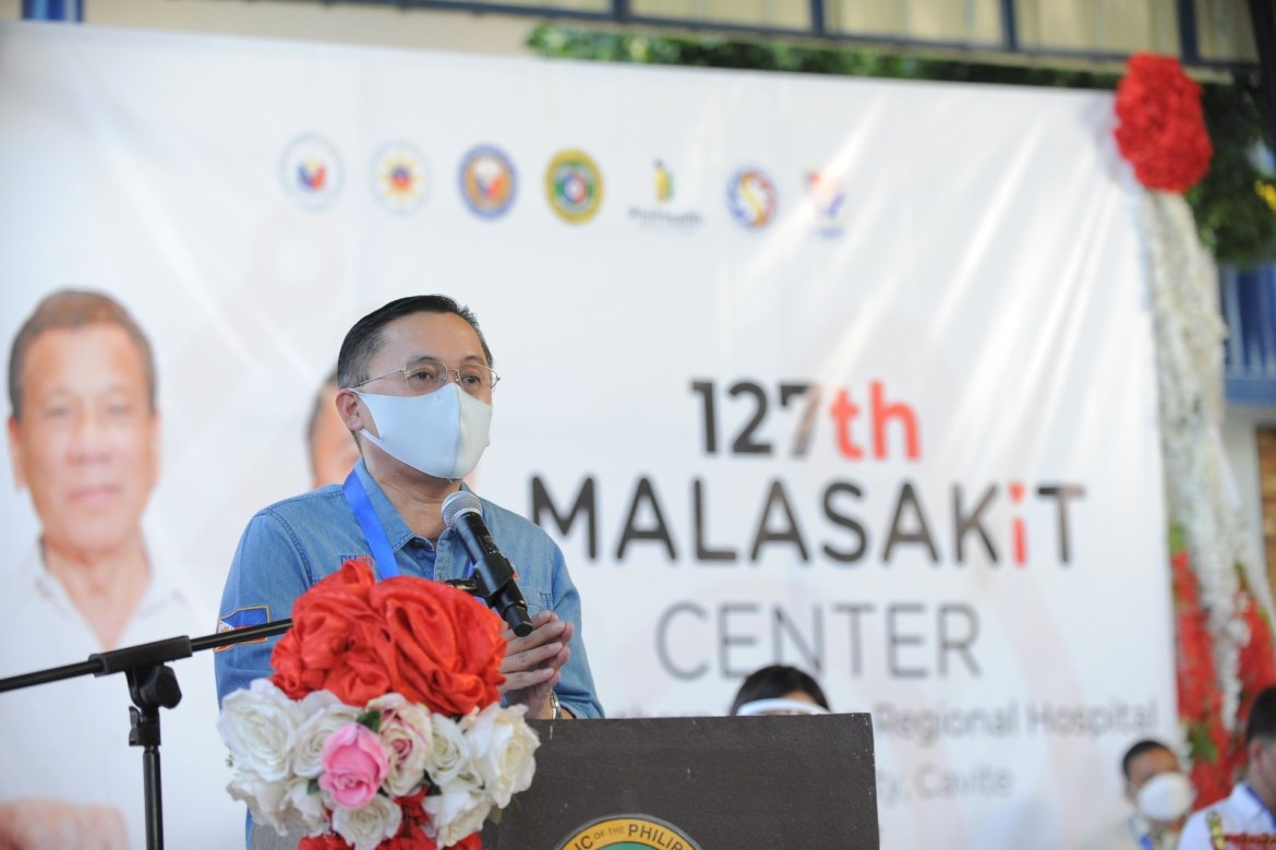 Go launches 127th Malasakit Center in Bacoor City, Cavite