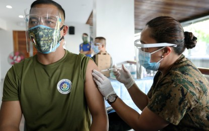 DND chief says 40K AFP personnel vaccinated so far