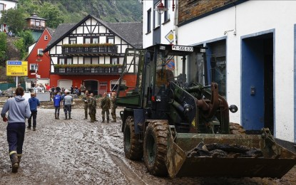Floods in Germany leave more than 150 dead