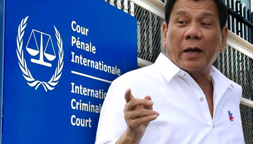 PRESIDENT DUTERTE, INTERNATIONAL CRIMINAL COURT, AND THE PEOPLE