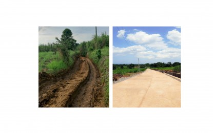 P9.6-M farm-to-market road benefits 200 families in Bago City