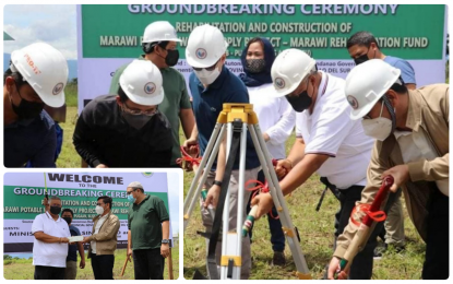 BARMM-funded P400-M water system in Marawi City begins