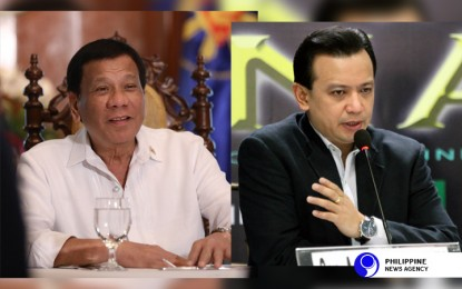 Duterte to Panelo: Take care of Trillanes' plunder allegations
