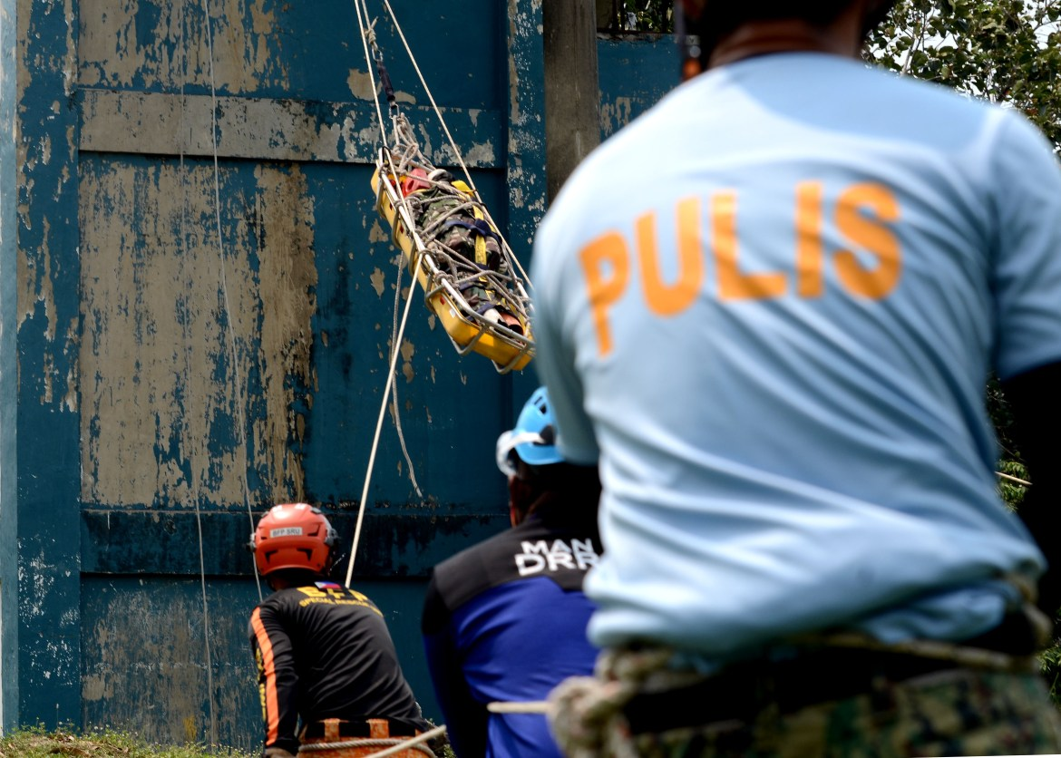 PNP conducts search and rescue competitions