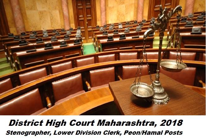 Buldhana District Court Question paper Set 1