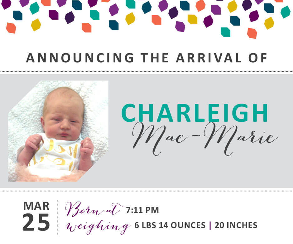 Charleigh Mae Marie 4