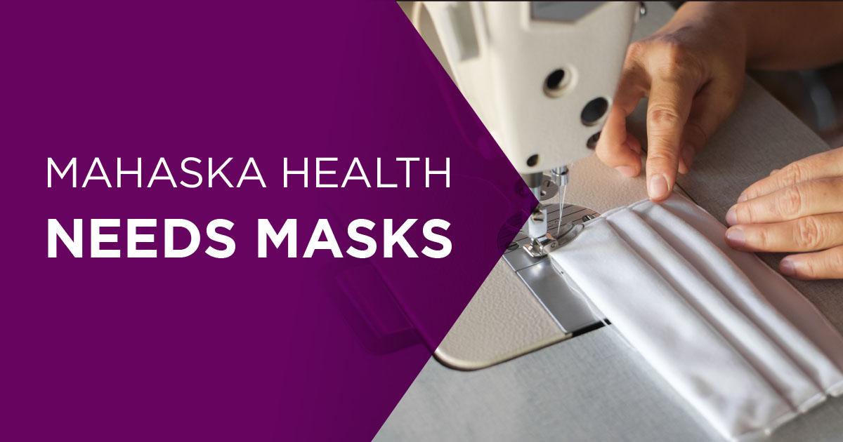 Mahaska Health Needs Masks 2