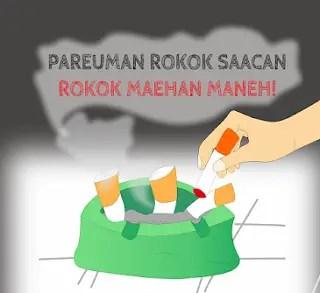 iklan sunda tentang bahaya merokok