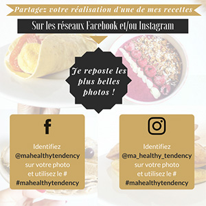 Partage Recettes Ma Healthy Tendency
