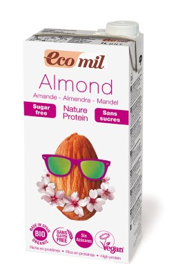 Bowl Cake Banane Framboises - Lait d'amande EcoMil - Recette Ma Healthy Tendency